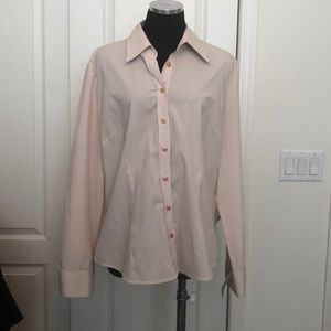 New York & Co button down top sz XL